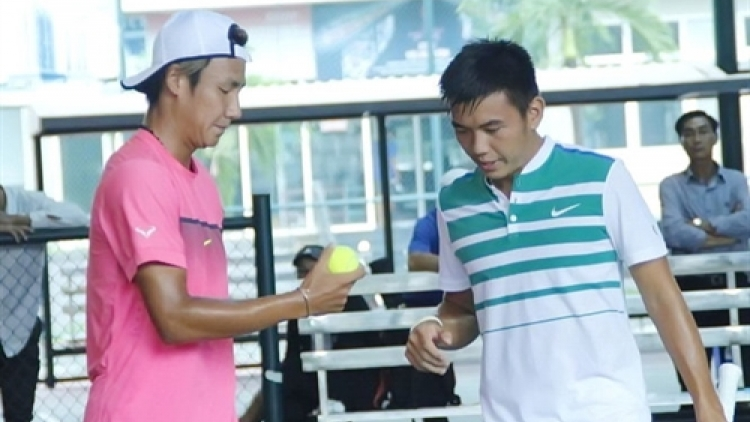 Nam win first doubles match in tennis tourney