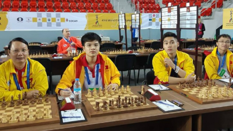 Vietnam wins opening rounds of Chess Olympiad