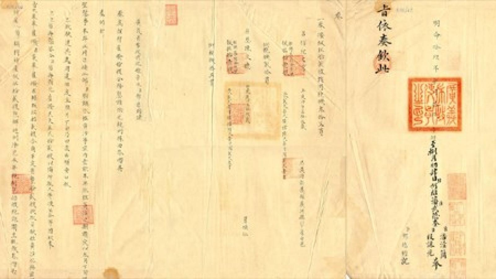 Nguyen Dynasty exercises national maritime sovereignty