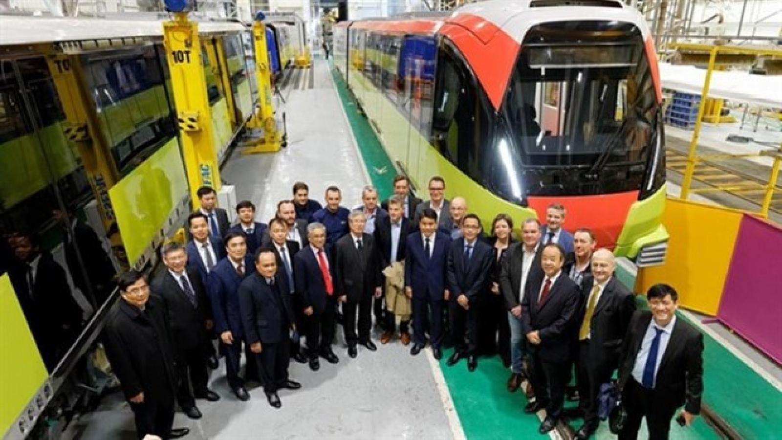 Nhon – Hanoi Station metro line expected to run in 2021