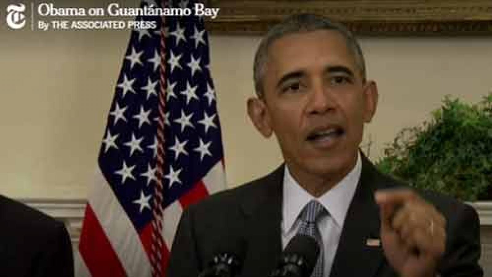 Obama makes last attempt to persuade Congress to close Guantanamo