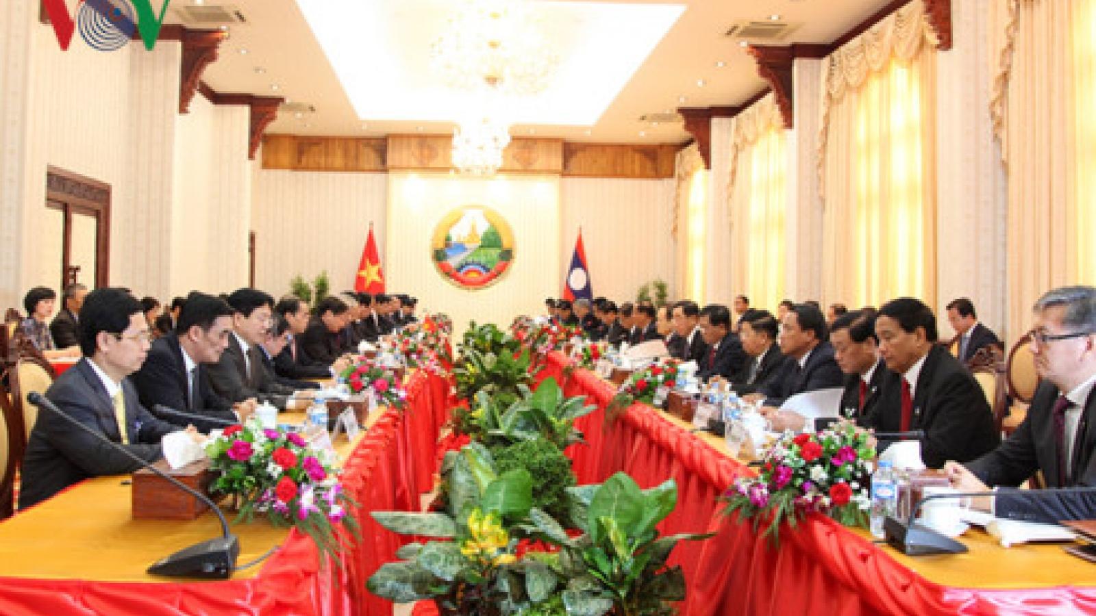 Laos,Vietnam look to stronger ties