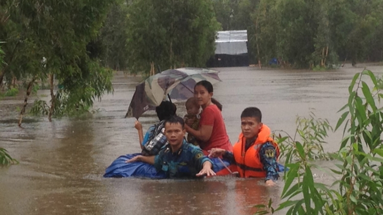 Phu Quoc island suffers historic levels of flooding