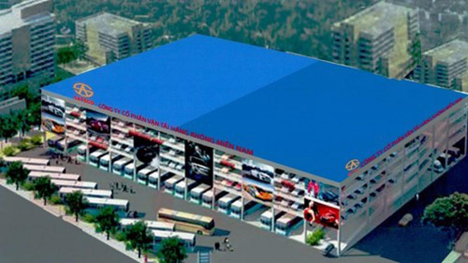 HCM City plans multi-story parking lot near airport