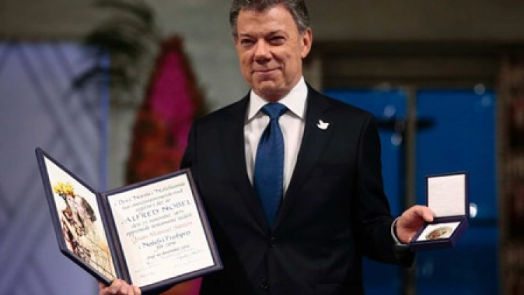 Nobel Peace Prize 2016 gives a boost to peace process in Colombia