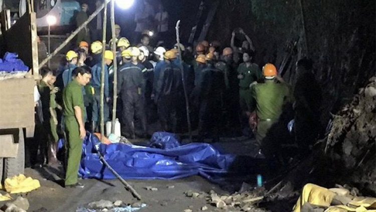 1 dead, 2 injured in coal mine collapse in Quang Ninh province