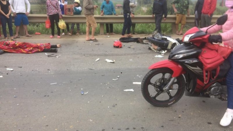 Truck collision leaves one dead and one injured in Thanh Hoa