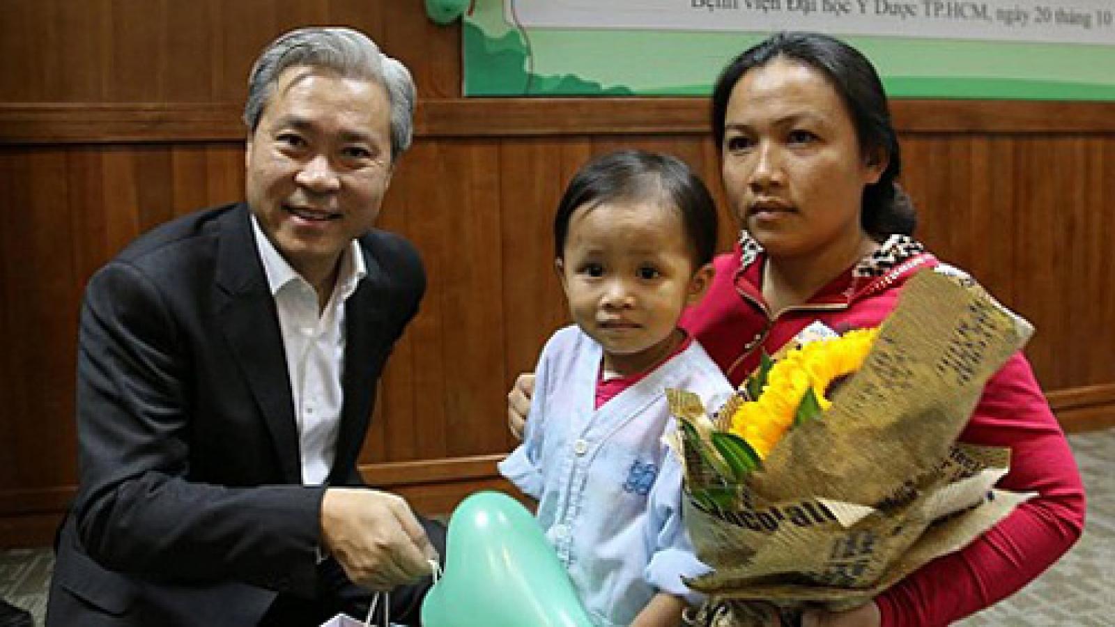 Charity performs landmark 5,000th heart surgery for Vietnamese kid