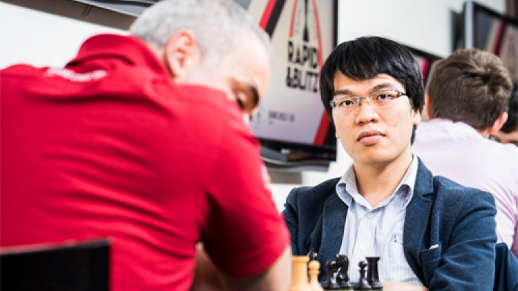 Quang Liem earns first win against Garry Kasparov