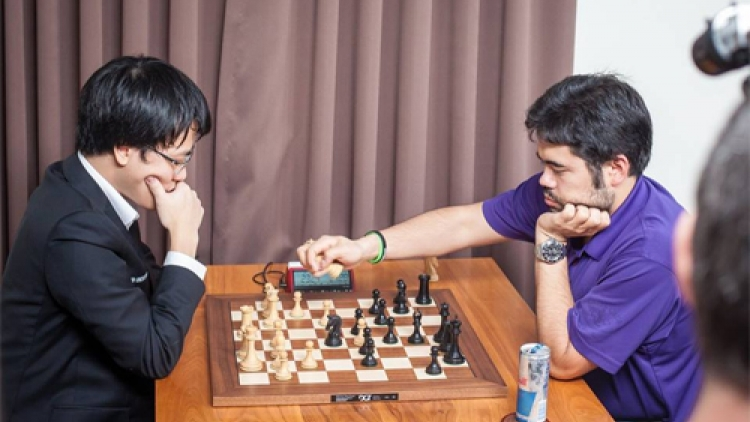 Quang Liem ties for first place on first day at Grand Chess Tour