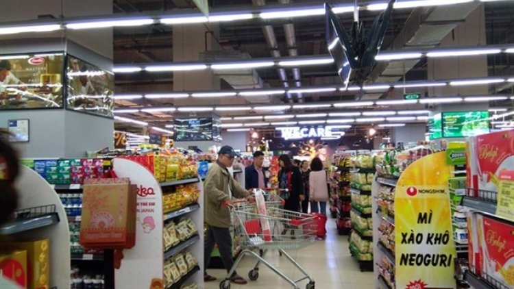 Retail sales up 12.2 percent in January