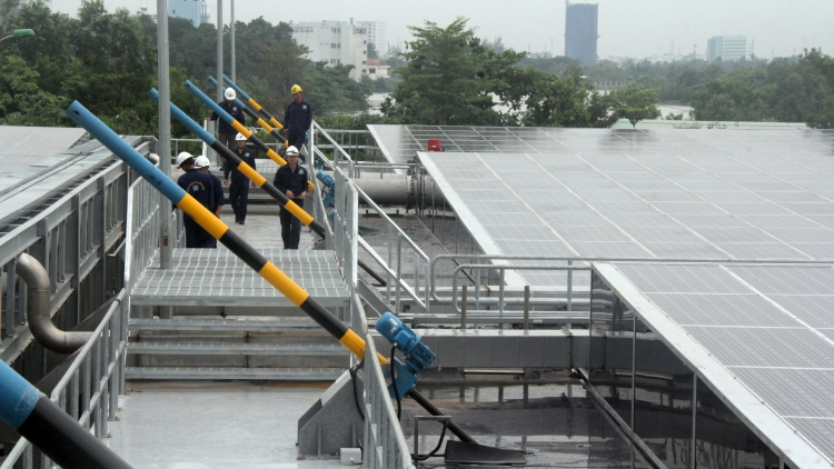 HCM City operates first wastewater treatment plant using solar energy