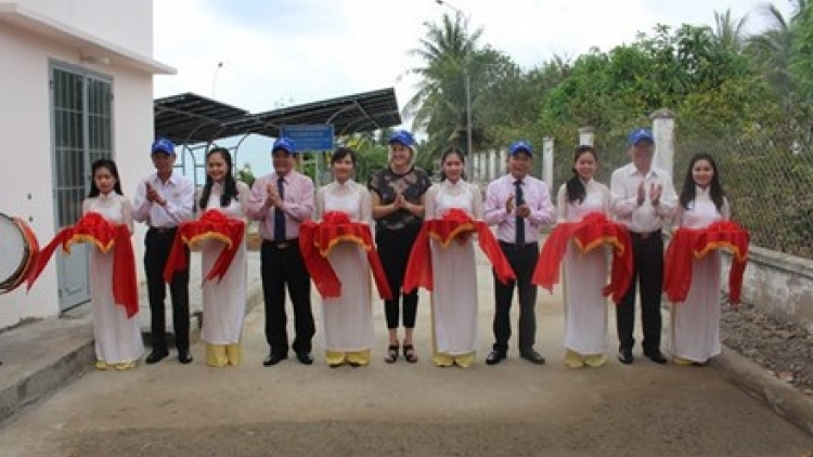 Danish-funded project provides solar power to Ben Tre waterworks