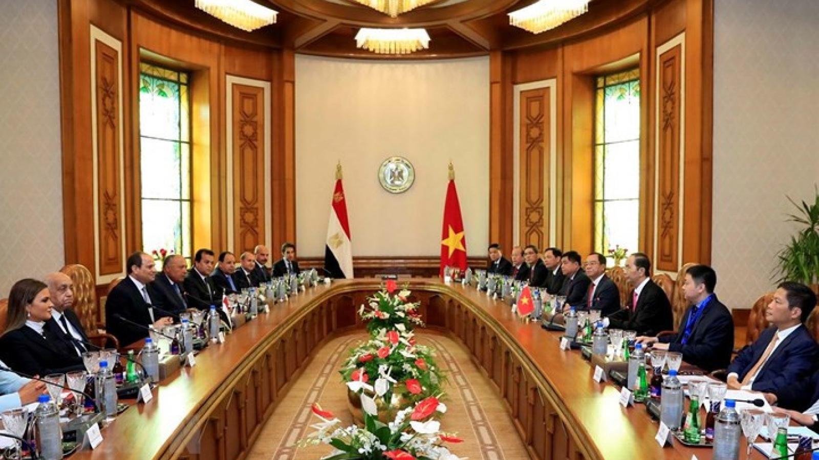 President's visits to Ethiopia, Egypt achieve notable success