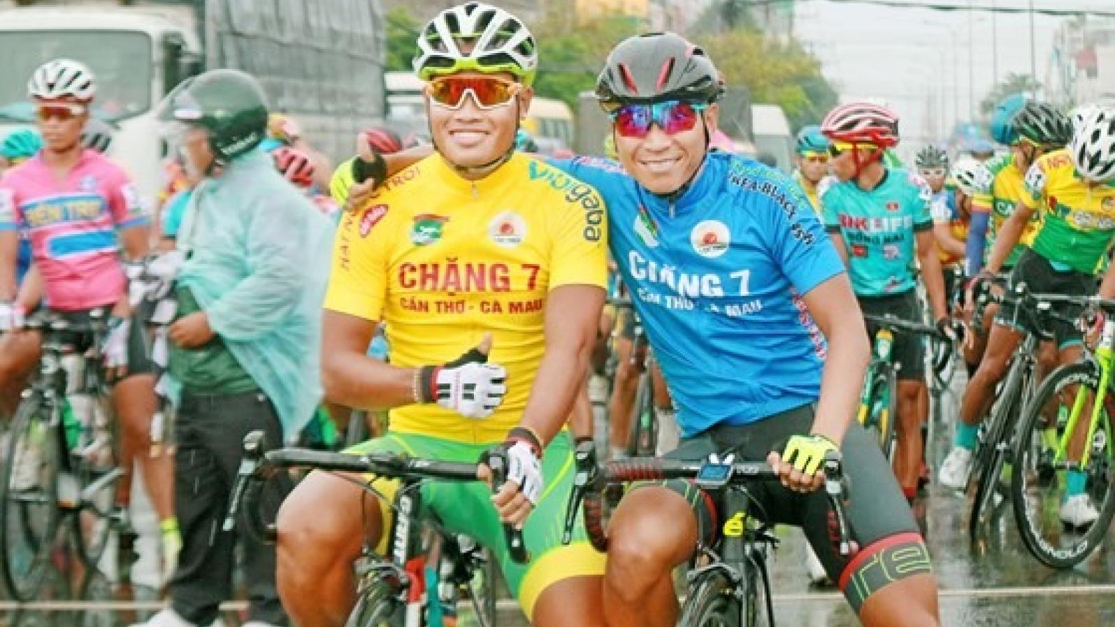 Tam wins Mekong Deltal cycling tour