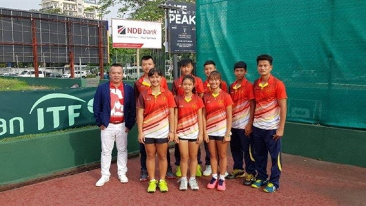 Vietnam finish third at Junior Davis Cup