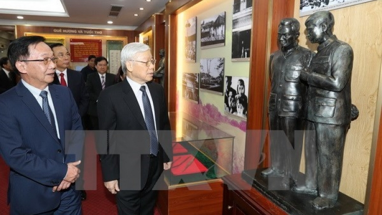 Party leader commemorates late General Nguyen Chi Thanh