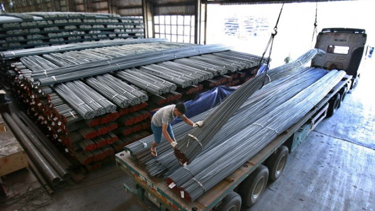 Steel imports rise 25% in 9 months