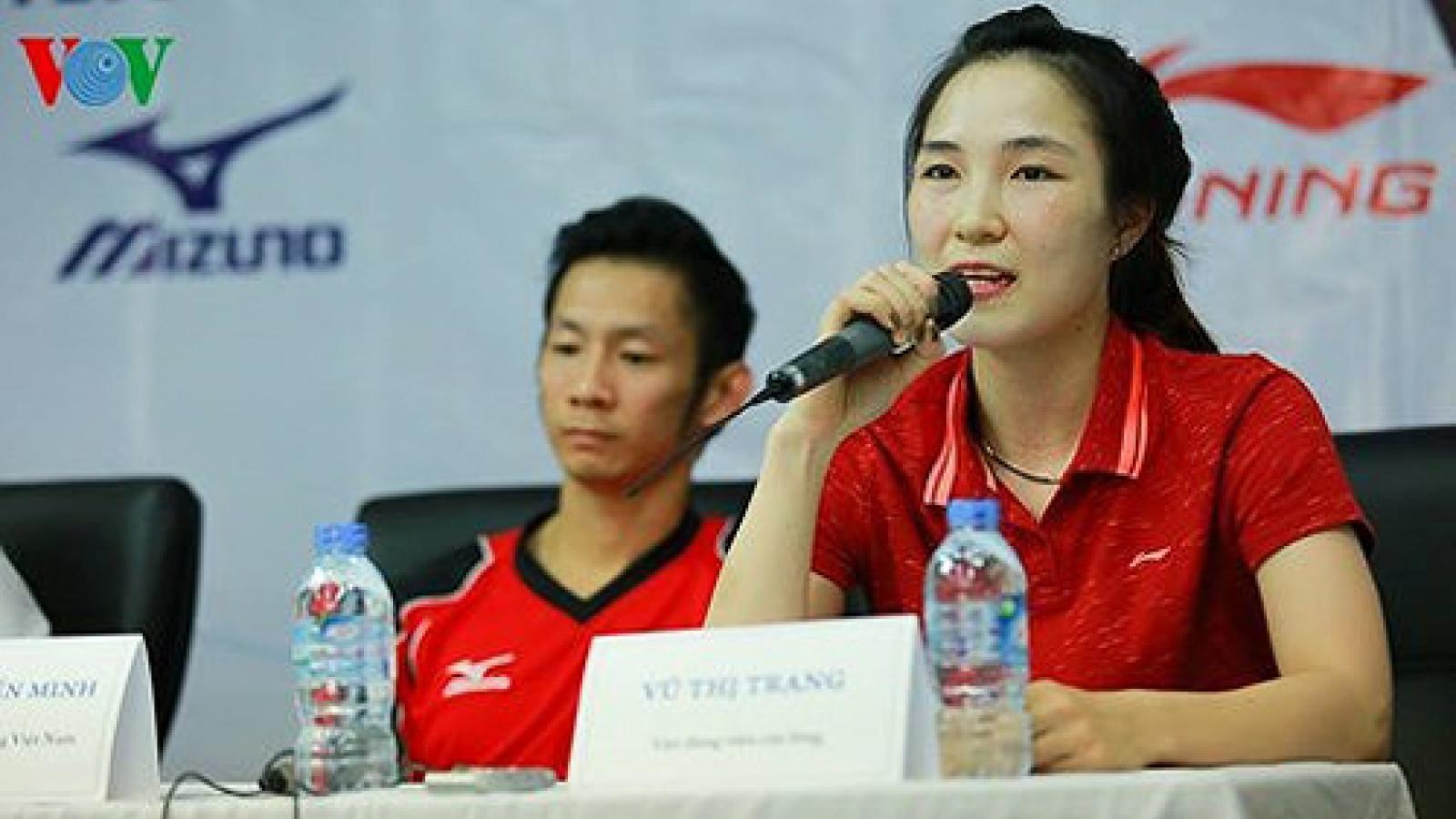 Tien Minh, Vu Thi Trang out of badminton's world top 50