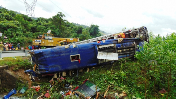 Norwegian couple killed in traffic accident in Quang Nam