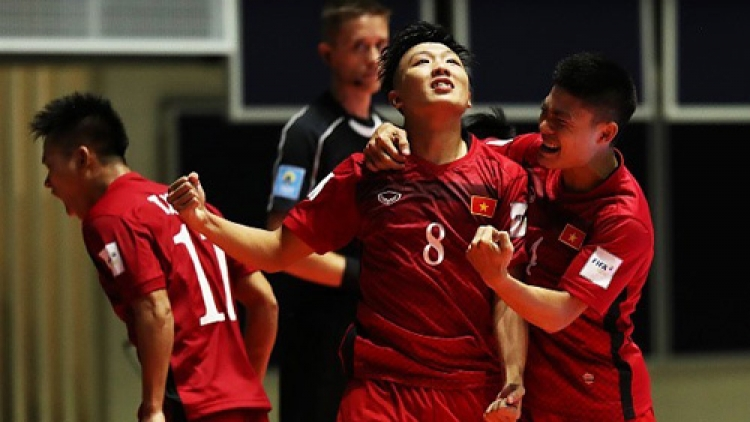 Tri's goal voted 2nd best at Futsal World Cup