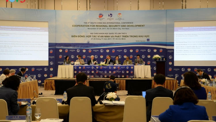 International cooperation strengthened for East Sea peace, stability