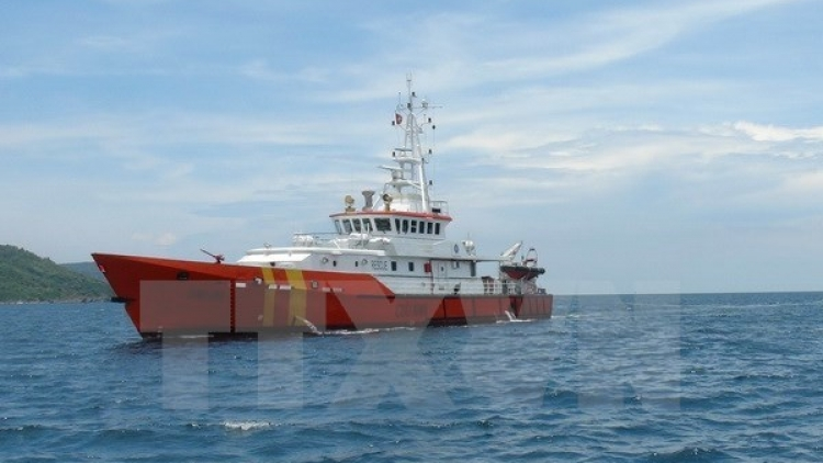 Foreign sailor severely injured at sea rescued