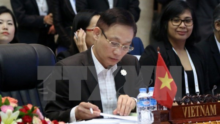 ASEAN senior officials complete preparations for AMM meetings