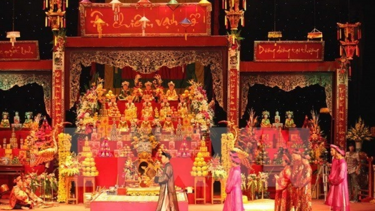 Mother Goddess worship performed in Malaysia