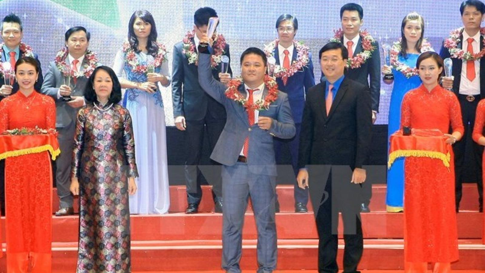 Young startup entrepreneurs honoured