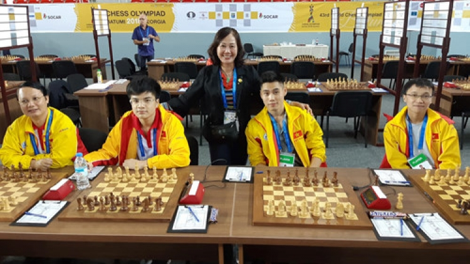 Vietnam continue winning streak at Chess Olympiad
