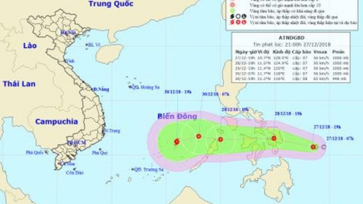 Tropical depression likely to strengthen into typhoon