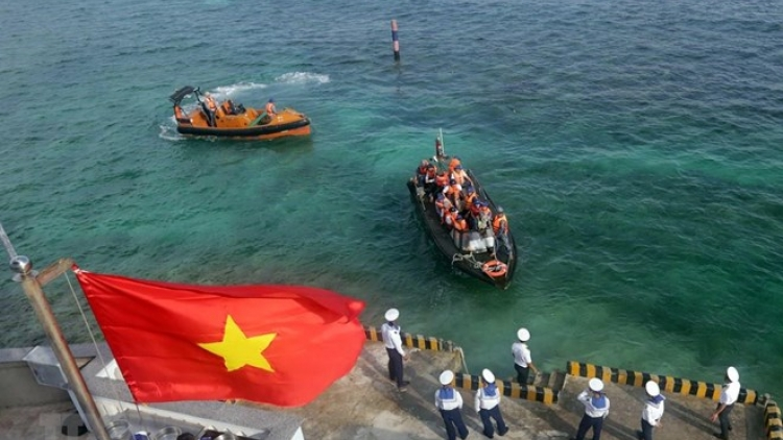 UNCLOS 1982 promotes development cooperation at sea