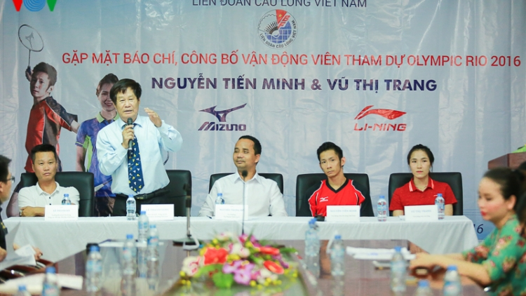 Badmintion players ready for Olympic Rio 2016
