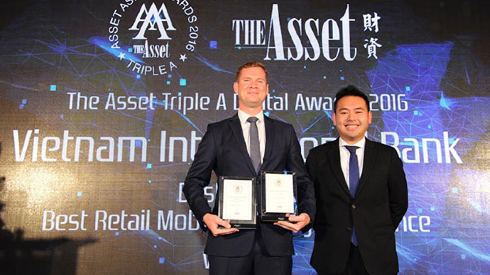 VIB wins international awards for MyVIB mobile banking app