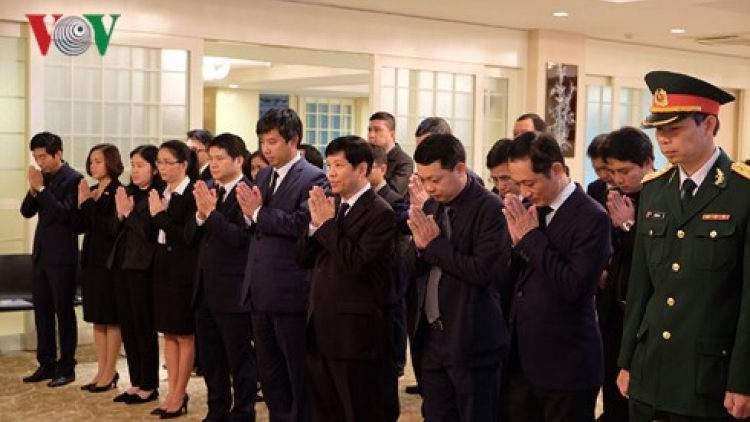Tribute-paying ceremony for Party chief Do Muoi in Japan