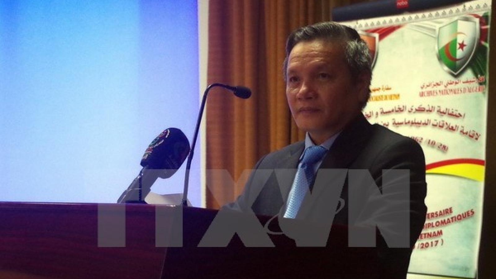 Various activities marks Vietnam-Algeria 55th diplomatic ties