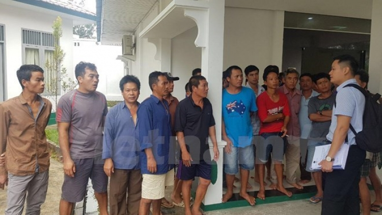 Vietnamese embassy works to ensure justice for sailors in Indonesia