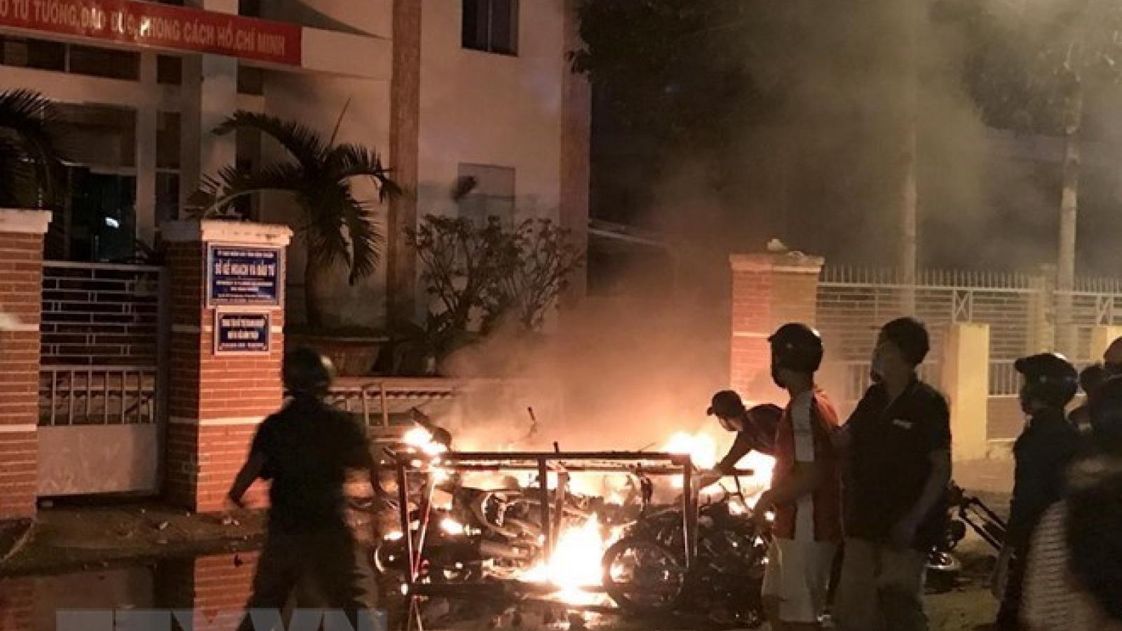 Binh Thuan: legal proceedings launched against disturbance case