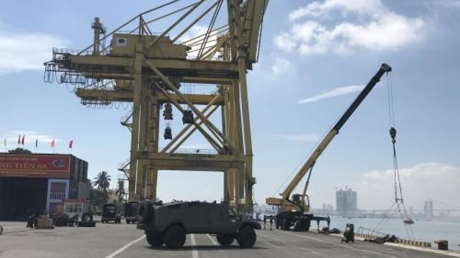 Tien Sa wharf in Da Nang to be inaugurated in November