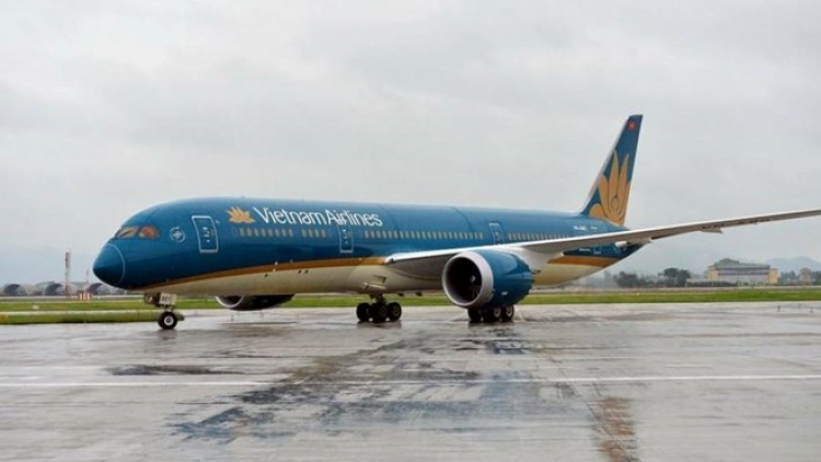 Vietnam Airlines adjusts flights from/to Japan due to storm