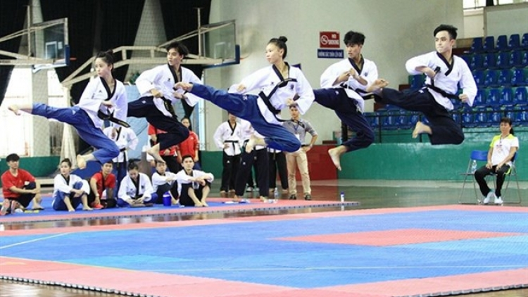 Taekwondo artists target four golds in SEA Games