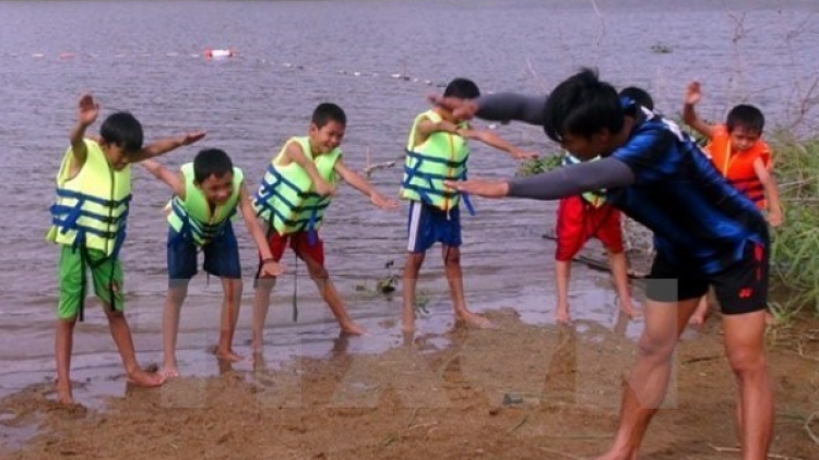 National campaign on child drowning prevention launched