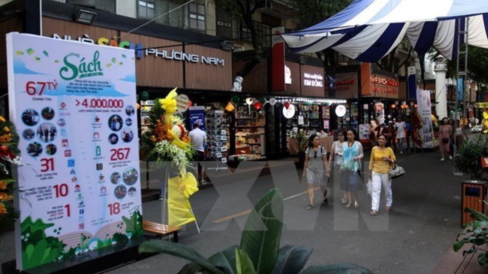 HCM City book street earns US$877,000