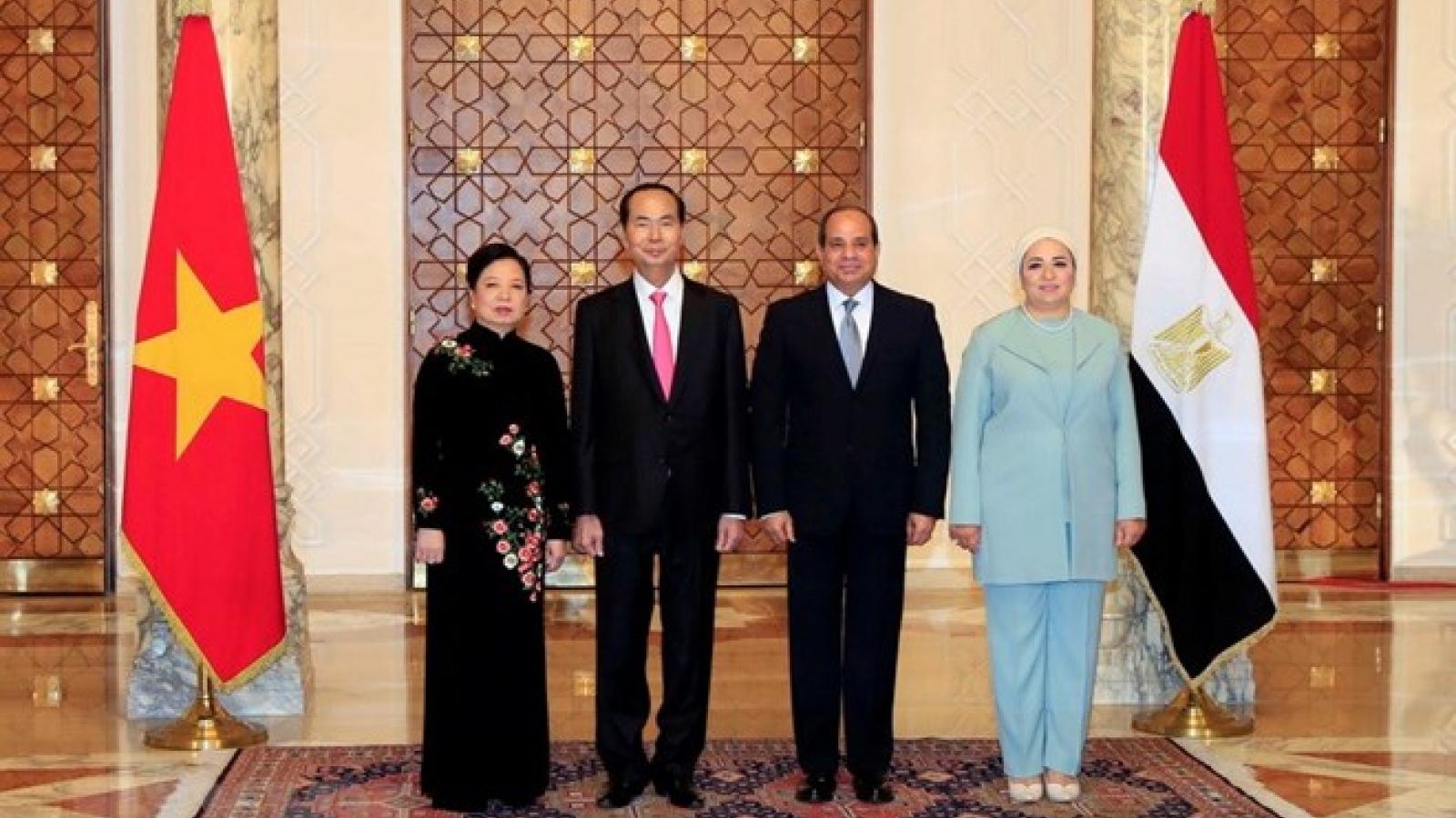 President's visits to Ethiopia, Egypt record upbeat outcome