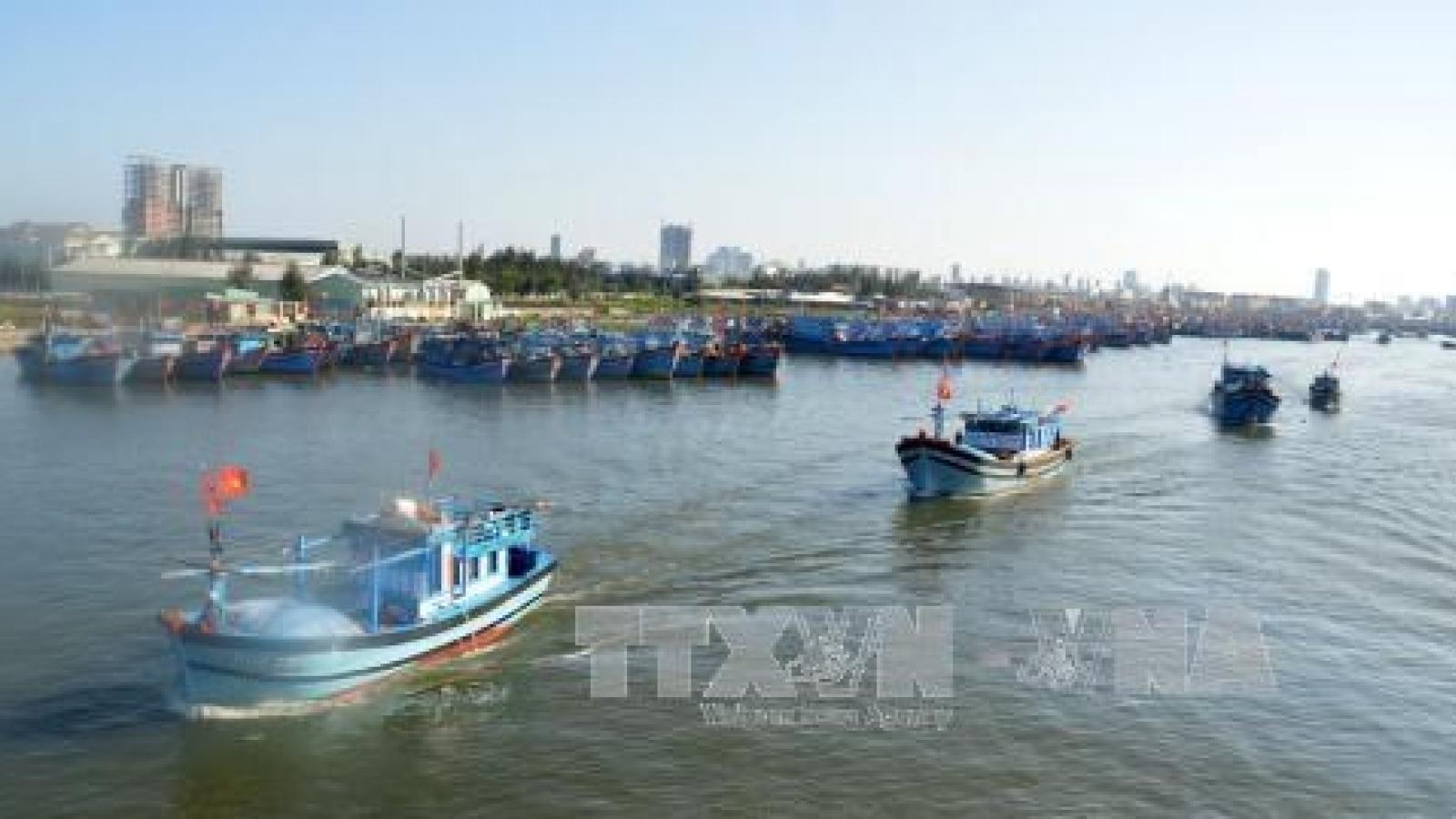 Da Nang supports local fishermen
