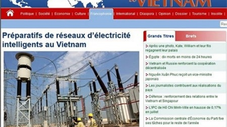CVN launches competition for Francophone reporters in Vietnam