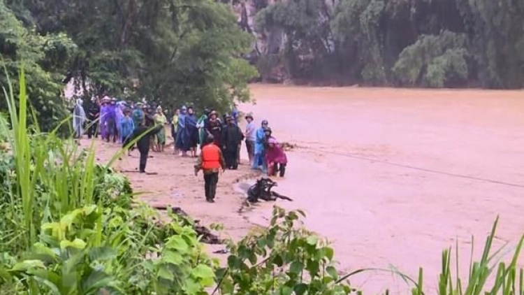 Five dead, 14 missing as consequences of storm Wipha
