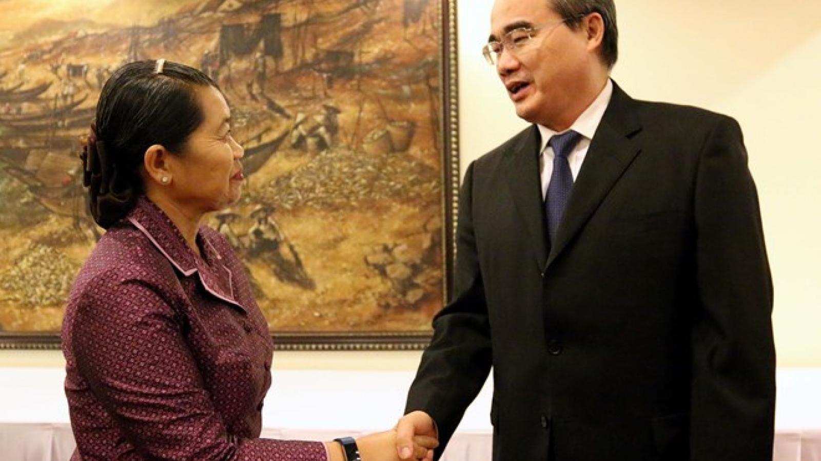 HCM City ready to boost ties among Vietnam, Laos, Cambodia women