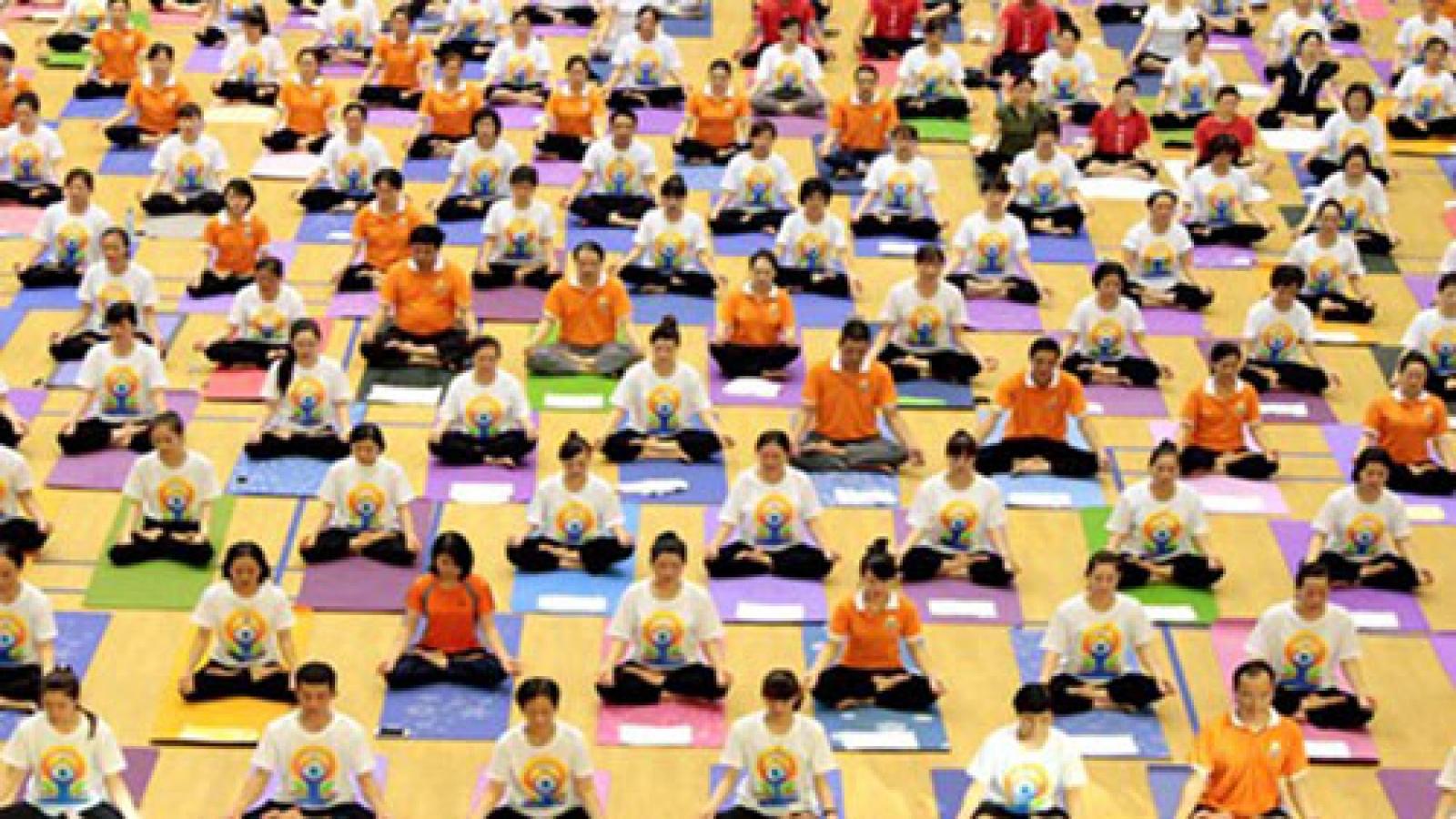 Yoga day celebrations kick off in Vietnam